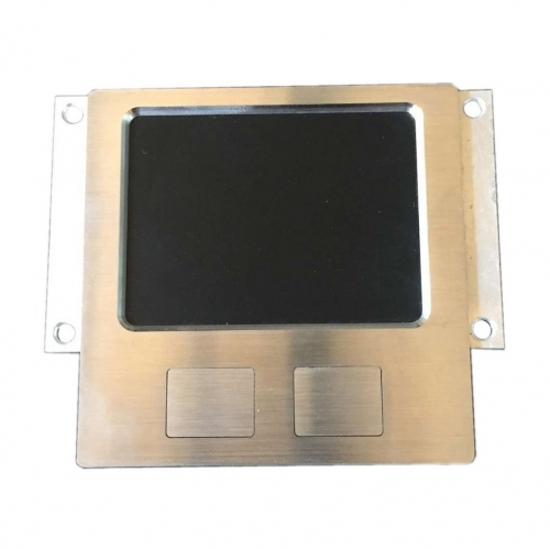 IP65 waterproof stainless steel rugged touchpad in panel mounted solution