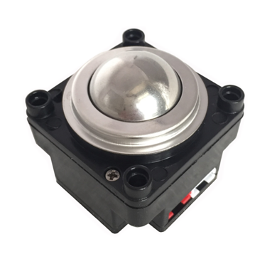 IP68 rated waterproof stainless steel optical trackball module