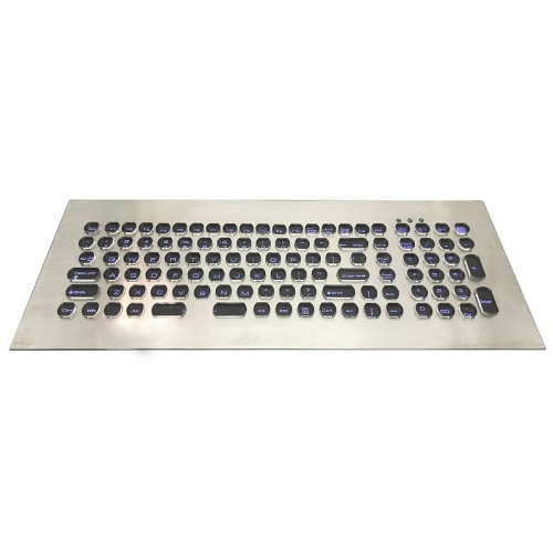 IP66 waterproof stainless steel backlight keyboard
