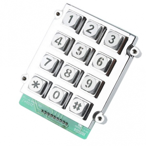 IP65 waterproof backlight dye-casting numeric keypad