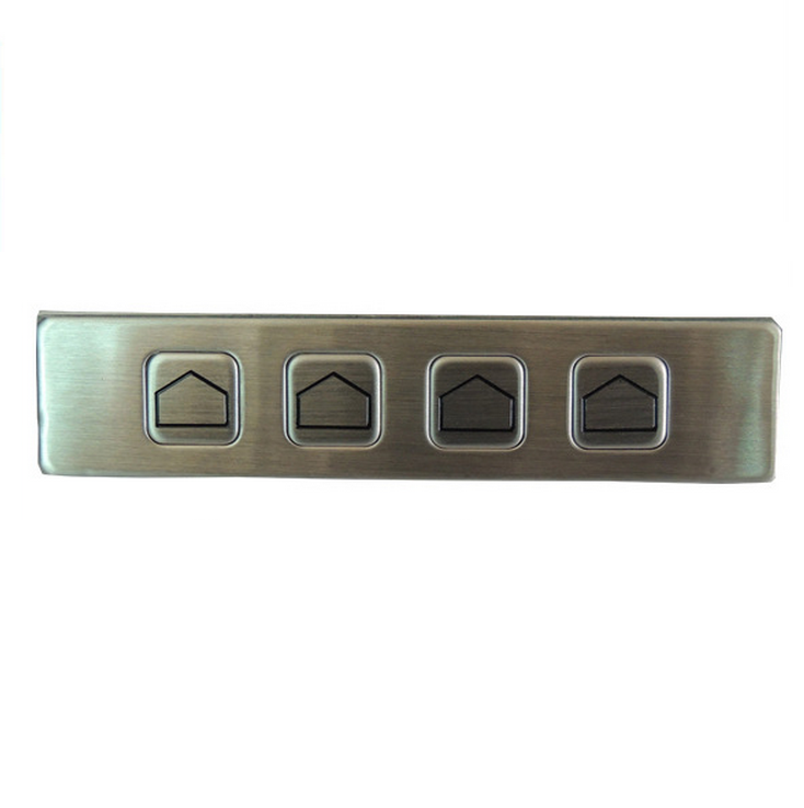 IP65 stainless steel functional keypad