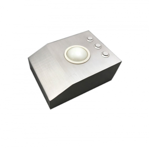 IP66 waterproof stainless steel desktop trackball