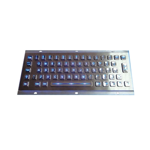 IP65 waterproof stainless steel backlight keyboard