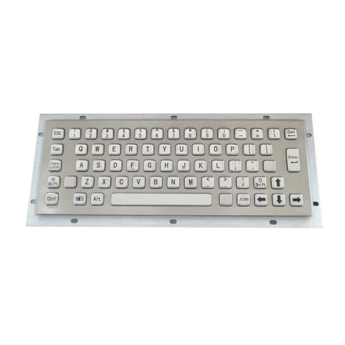 IP65 waterproof stainless steel keyboard